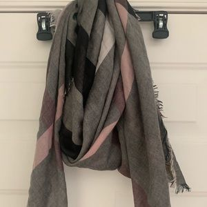 Burberry authentic large gauze scarf